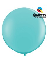 Giant 3ft latex balloons from Qualatex