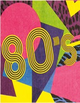 80's Party Tableware & Decorations