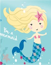 Be A Mermaid tableware and decorations