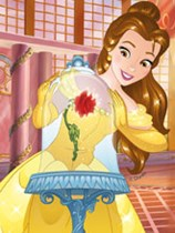 Disney Beauty and The Beast party tableware and decorations