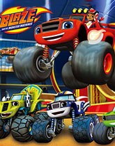 Blaze & The Monster Machines party supplies.