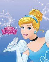 Party supplies and tableware themed with Disney Cinderella