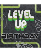 Level Up Gamer Themed Partyware