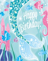 Mermaid Party Tableware And Decorations