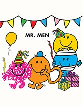 Mr Men Party Supplies and Decorartions