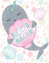 Narwhal Party tableware and decorations