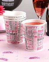 Happy Birthday party supplies from Neviti.