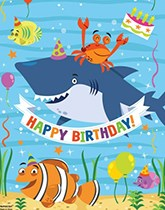 Ocean Buddies party supplies and decorations