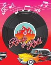 Rock & Roll 50s Party Supplies & Decorations.