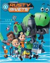 Rusty Rivets party tableware and decorations
