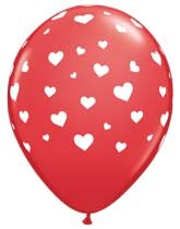 Latex Balloons for Valentine's Day