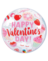 Bubble Balloons for Valentine's Day!