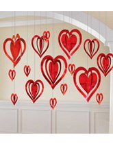 Hanging Decorations for Valentine's Day