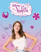 Disney's Violetta themed party supplies and decorations.
