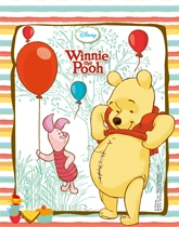 Party supplies and tableware with a Disney's Winnie The Pooh theme