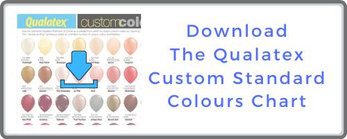 Qualatex Custom Standard Colours Chart