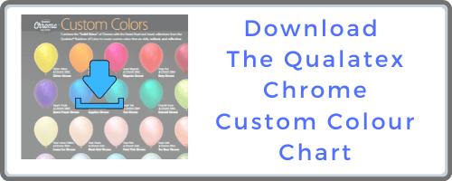 Custom Chrome Balloon Colour Chart