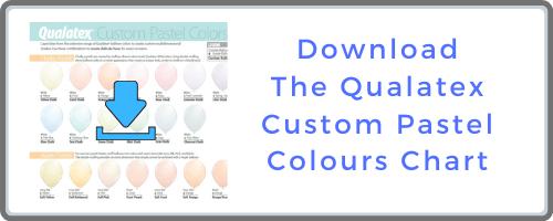 Qualatex Custom Pastel Colour Chart