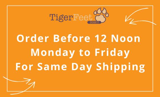 Tiger Feet Direct Same Day Shipping