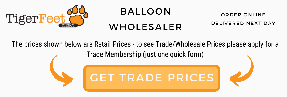 Tiger Feet Direct Balloon Latex Foil Wholesaler