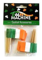 Flag of Ireland Cocktail Sticks - 50pk