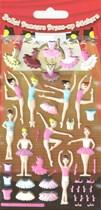 Ballerina Dress Up Sticker Set 5pk