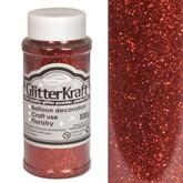 Glitter Kraft Red Powder 100g