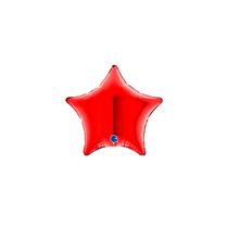 """Grabo Red Star 4"""" Foil Balloon"""