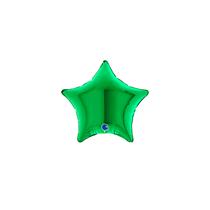 "Grabo 4"" Green Star Foil Balloon"