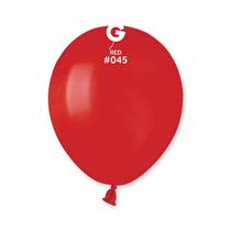 """Gemar Standard Red 5"""" Latex Balloons 100pk"""