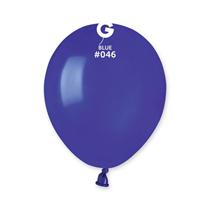 """Gemar Standard Navy Blue 5"""" Latex Balloons 100pk"""