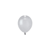 "Gemar Standard Grey 5"" Latex Balloons 50pk"