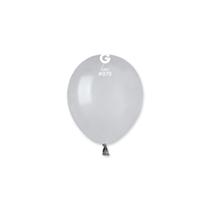 "Gemar Standard Grey 5"" Latex Balloons 100pk"