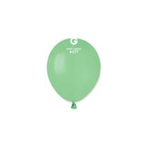 "Gemar Macaron Mint Green 5"" Latex Balloons 100pk"