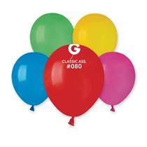 """Gemar Standard Assortment 5"""" Latex Balloons 100pk"""