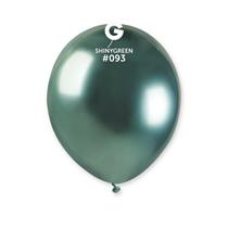"Gemar Shiny Green 5"" Latex Balloons 50pk"