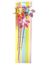 Flower Print Spinners 3pk