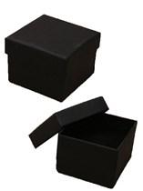Small Square Black Gift Boxes 12pk
