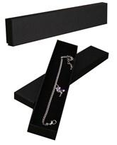 Black Bracelet Gift Boxes 12pk