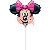 """Minnie Mouse 12"""" Air Fill Foil Balloon"""