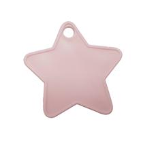 Baby Pink Plastic Star Balloon Weights 100pk