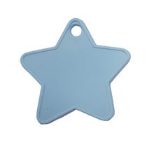 Baby Blue Plastic Star Balloon Weights 100pk
