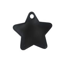Black Plastic Star Balloon Weights 100pk