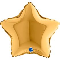 "Grabo Gold Star 9"" Foil Balloon"