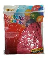 """Fuchsia 10"""" Latex Balloons 100pk"""