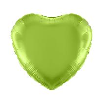 "Lime Green 18"" Heart Foil Balloon"