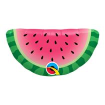 "Mini Watermelon Slice Air Fill 14"" Foil Balloon"