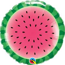 "Sliced Watermelon Fruit 18"" Foil Balloon"