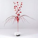 Valentine's Day Red Foil Spray Decoration
