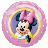 """Pink Minnie Mouse 18"""" Foil Balloon"""